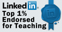 LinkedIn Top 1% Endorsed for Teaching